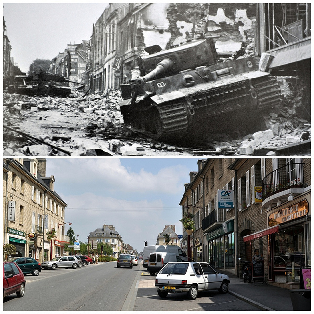 France WWII Then and Now