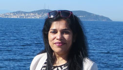 Shruti Das - Author of the Month of April 2017 at Spillwords.com