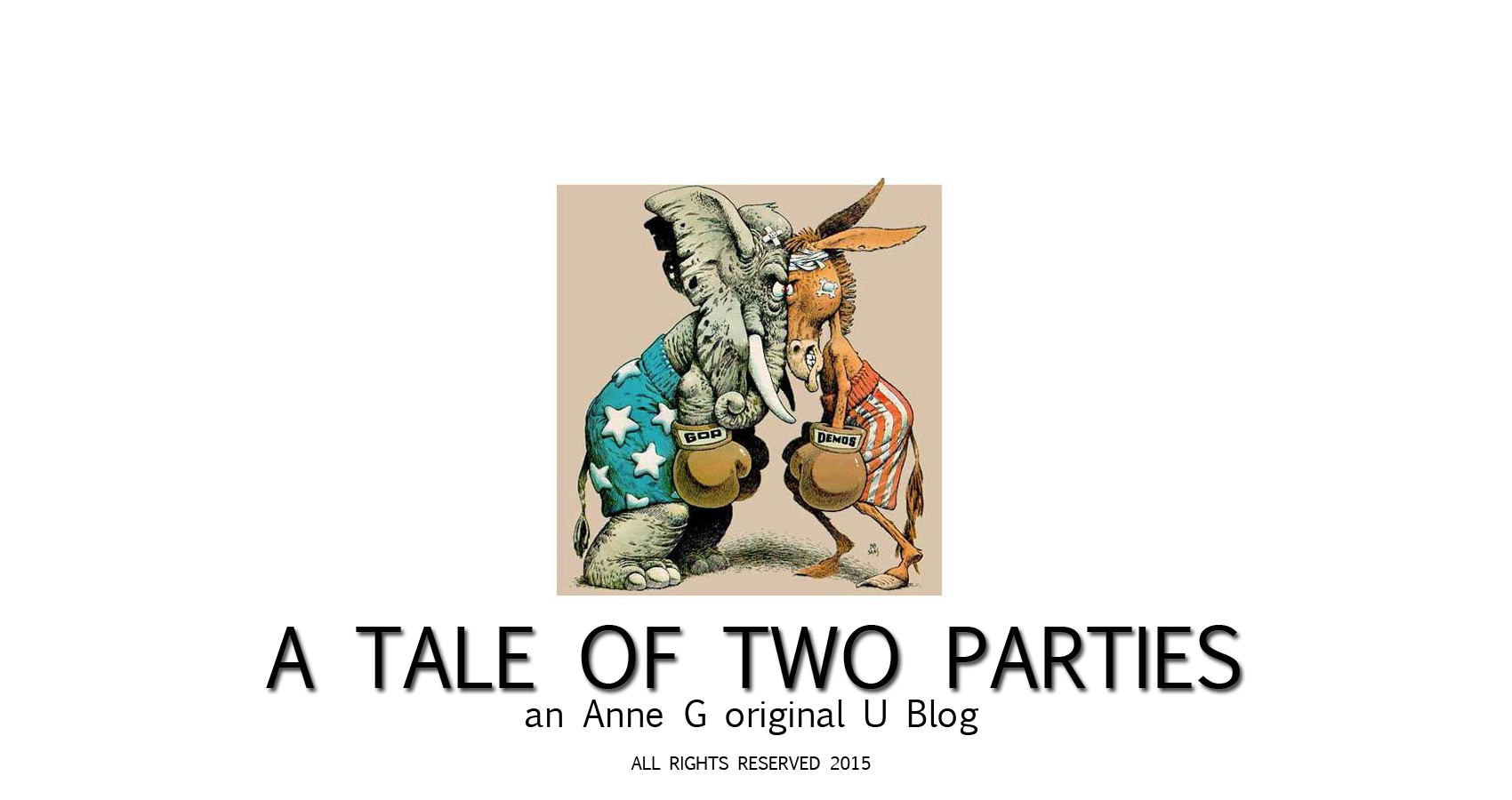 spillwords.com A Tale of Two Parties by Anne G