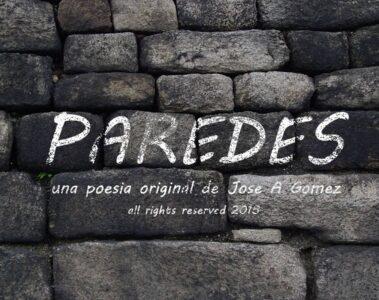 spillwords.com Paredes by Jose a Gomez