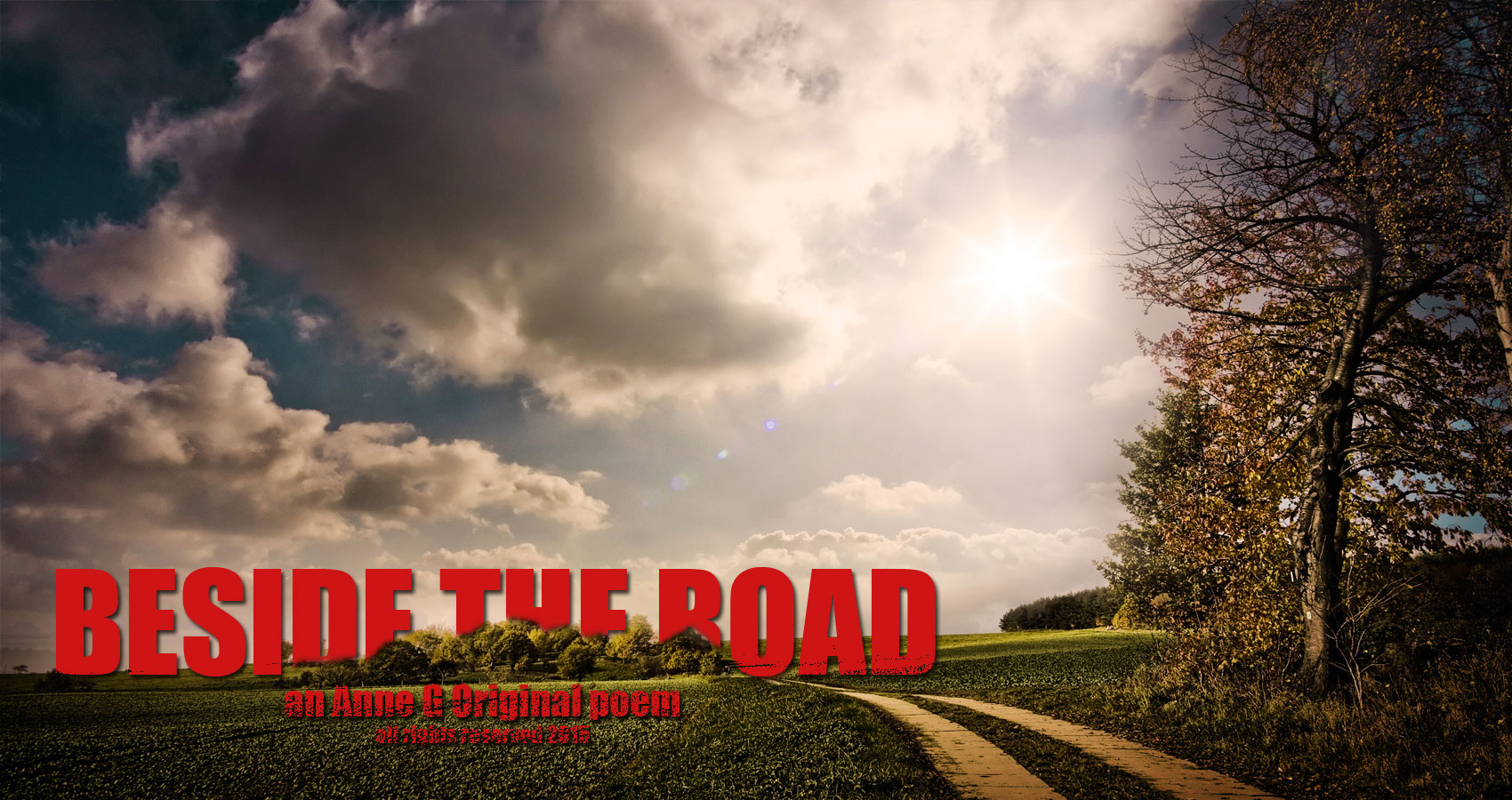 Beside The Road by Anne G at spillwords.com original poetry