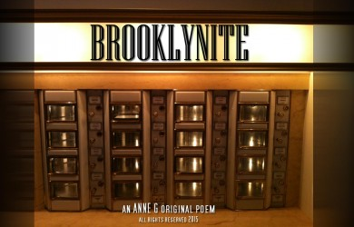spillwords.com Brooklynite by Anne G