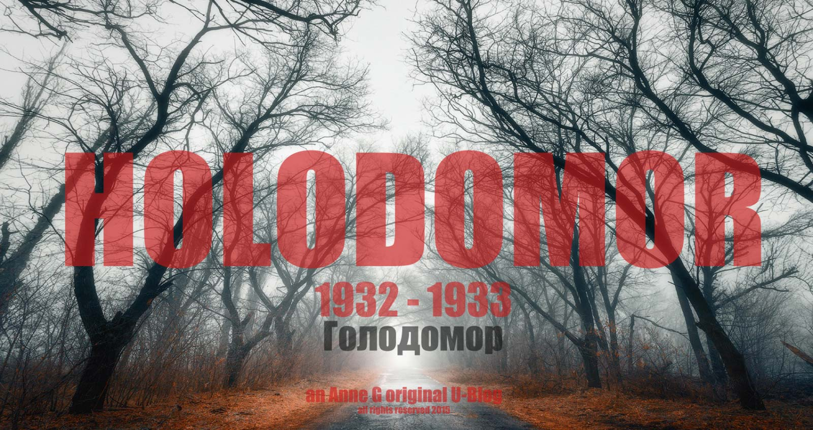 spillwords.com Holodomor by Anne G