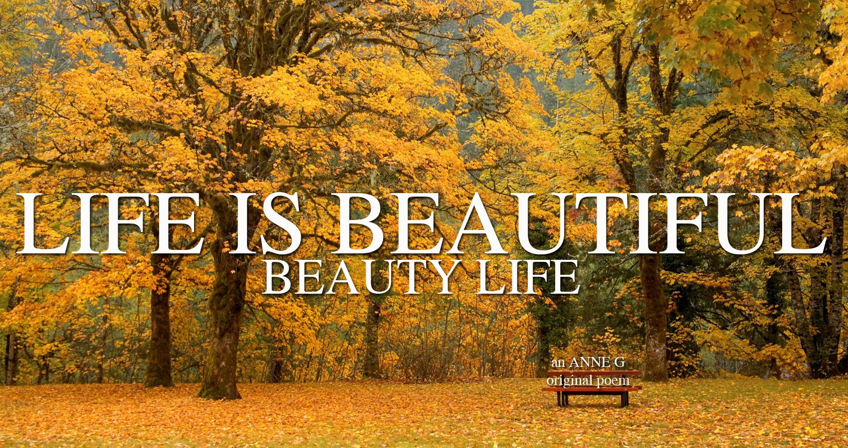spillwords.com Life Is Beautiful Beauty Life by Anne G