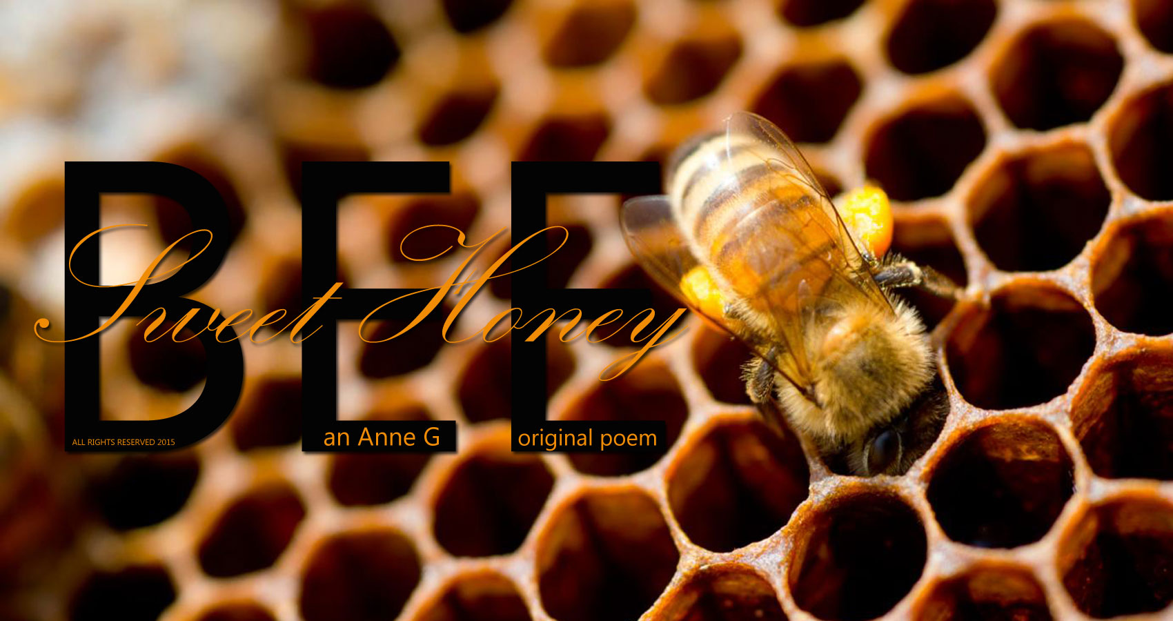 spillwords.com Sweet Honey Bee by Anne G