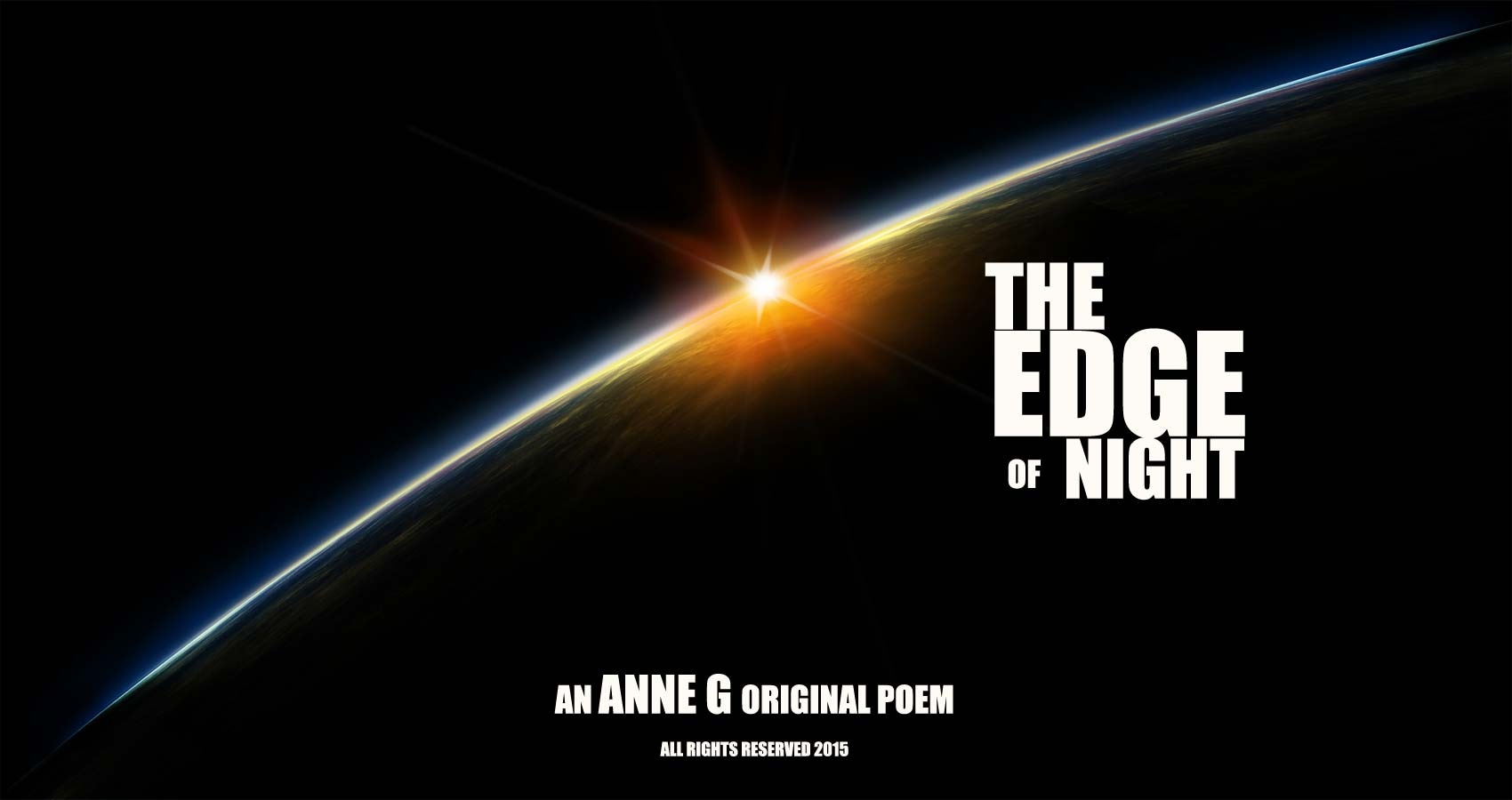 spillwords.com The Edge Of Night by Anne G