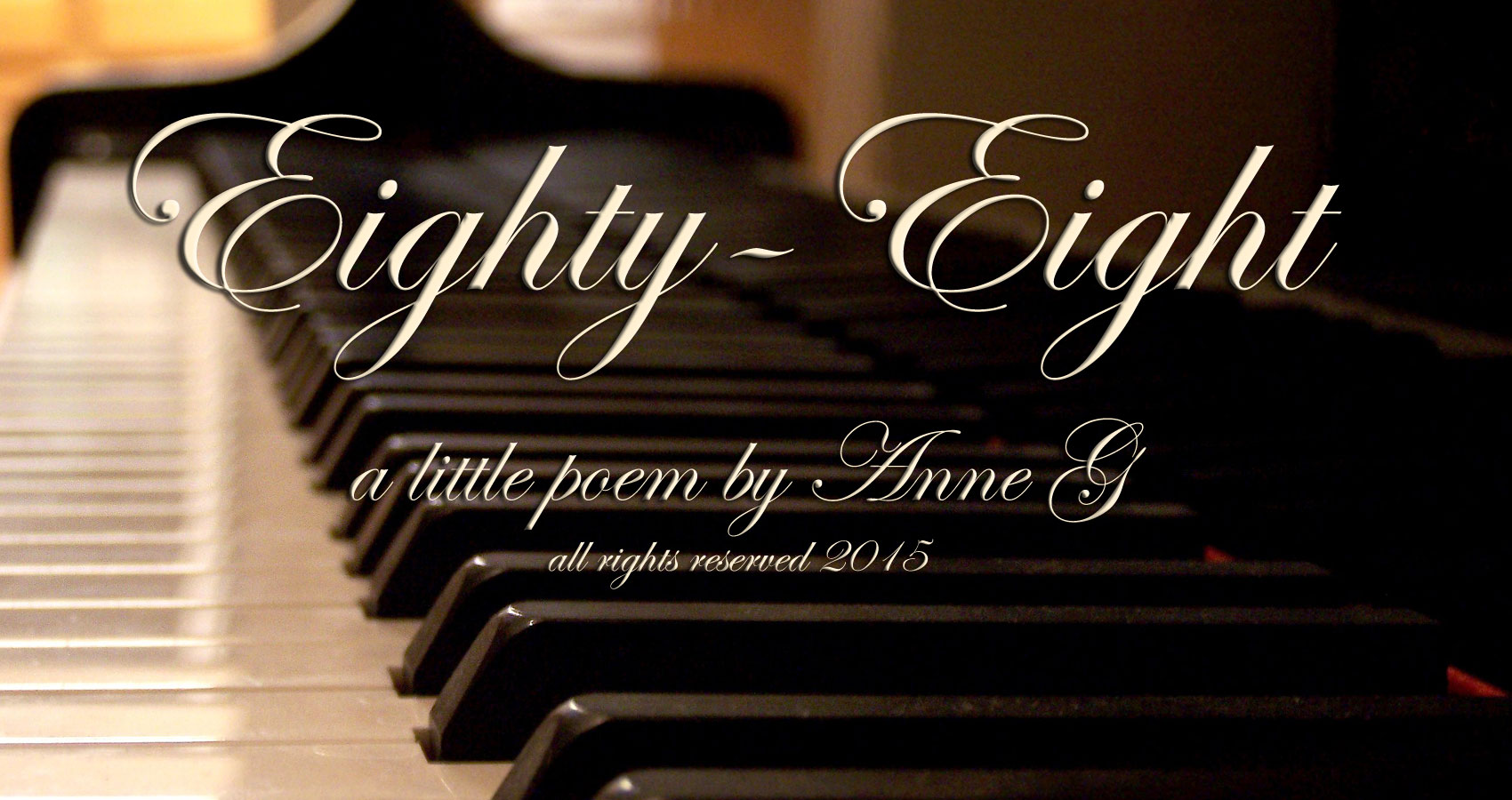 Eighty-Eight Micro Poetry at spillwords.com by Anne G