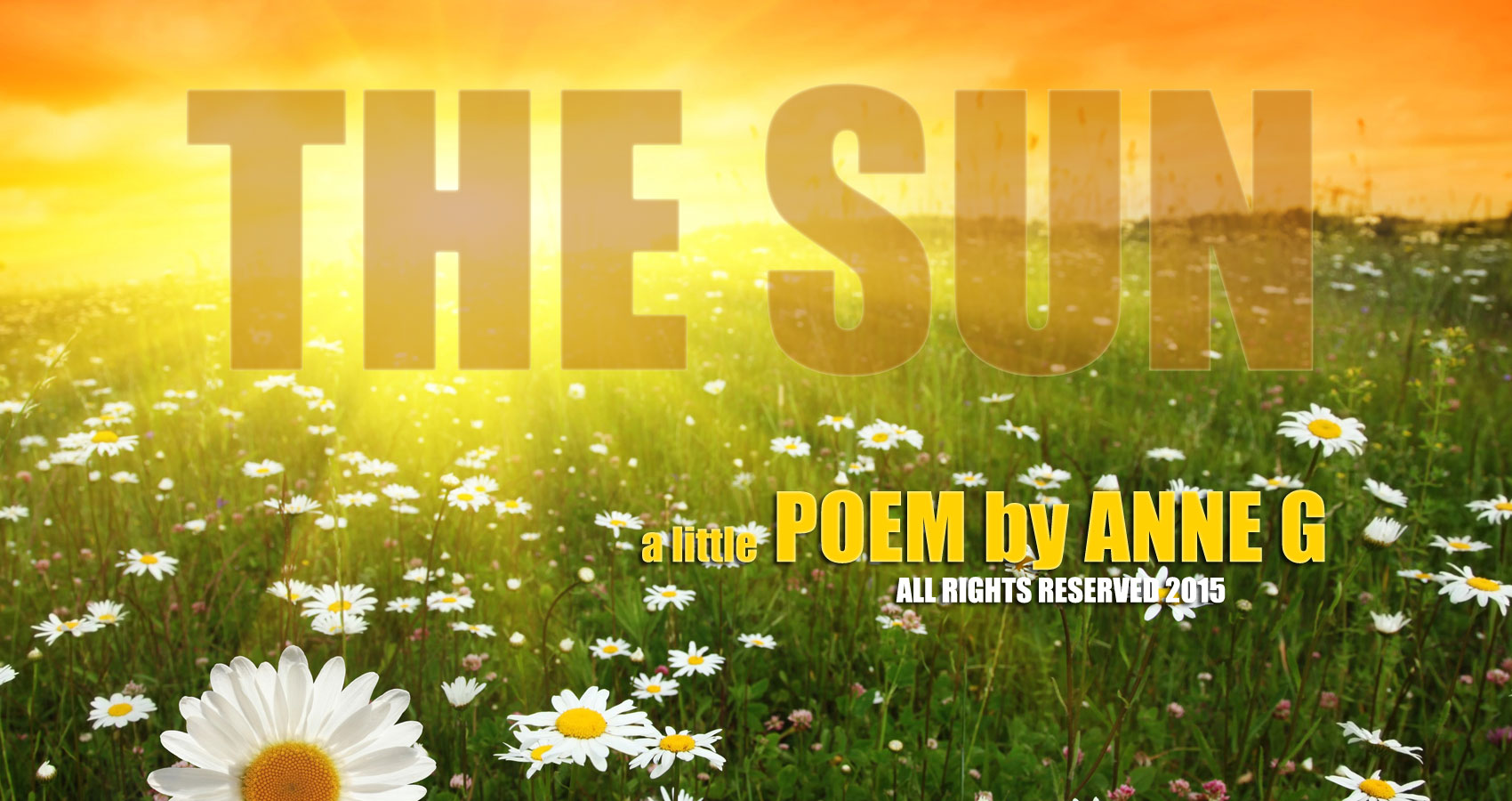 The Sun at spillwords.com by Anne G