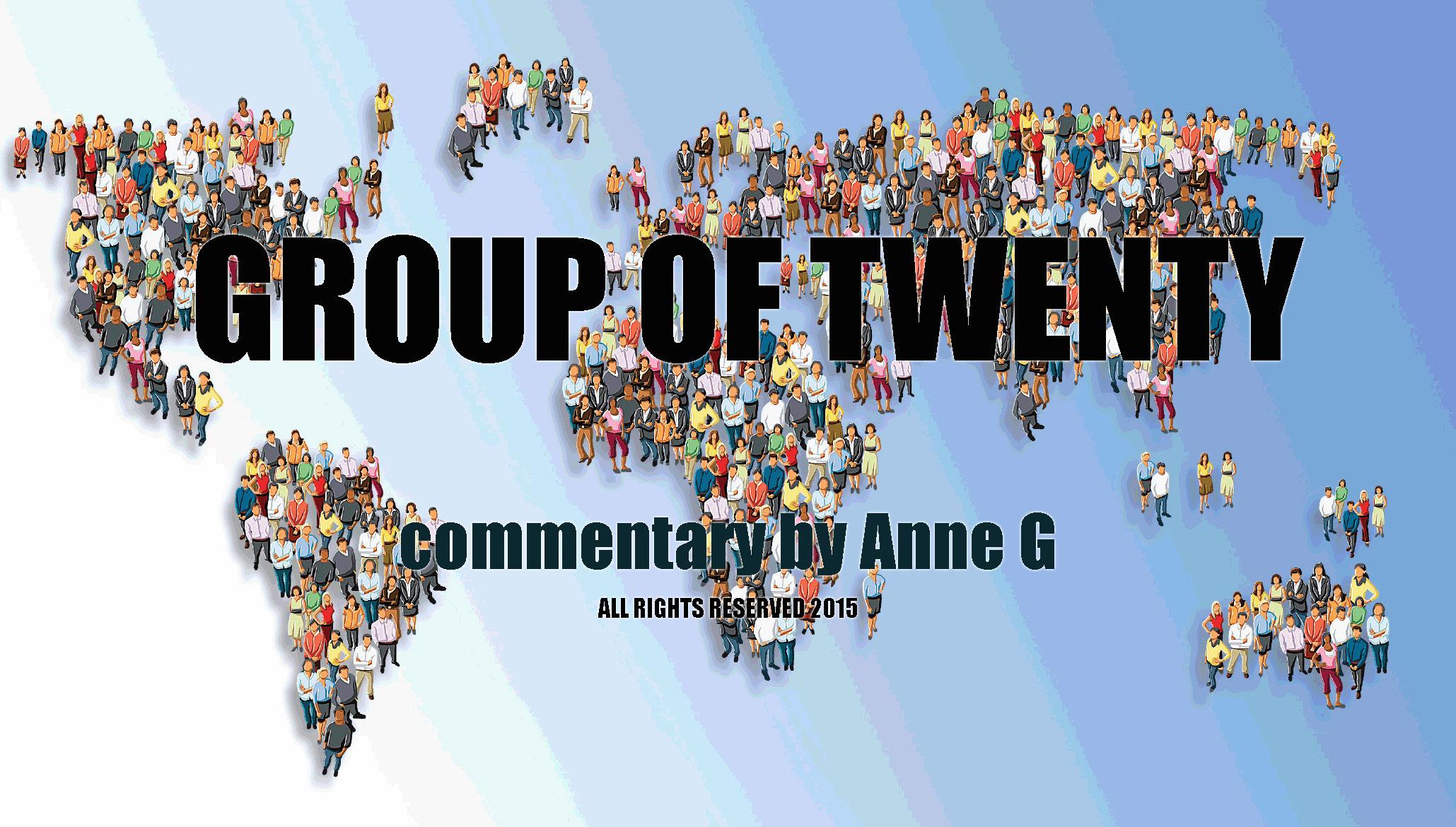 Group of Twenty at Spillwords.com