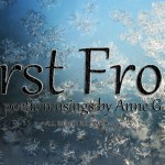 First Frost at Spillwords.com