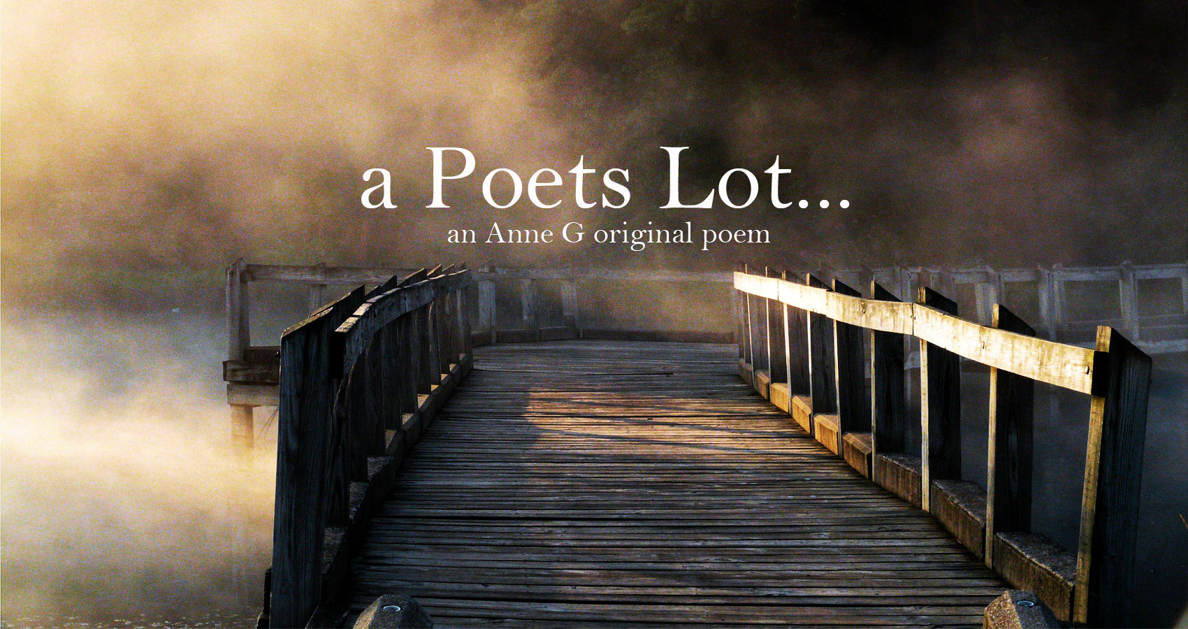 A Poet's Lot at Spillwords.com