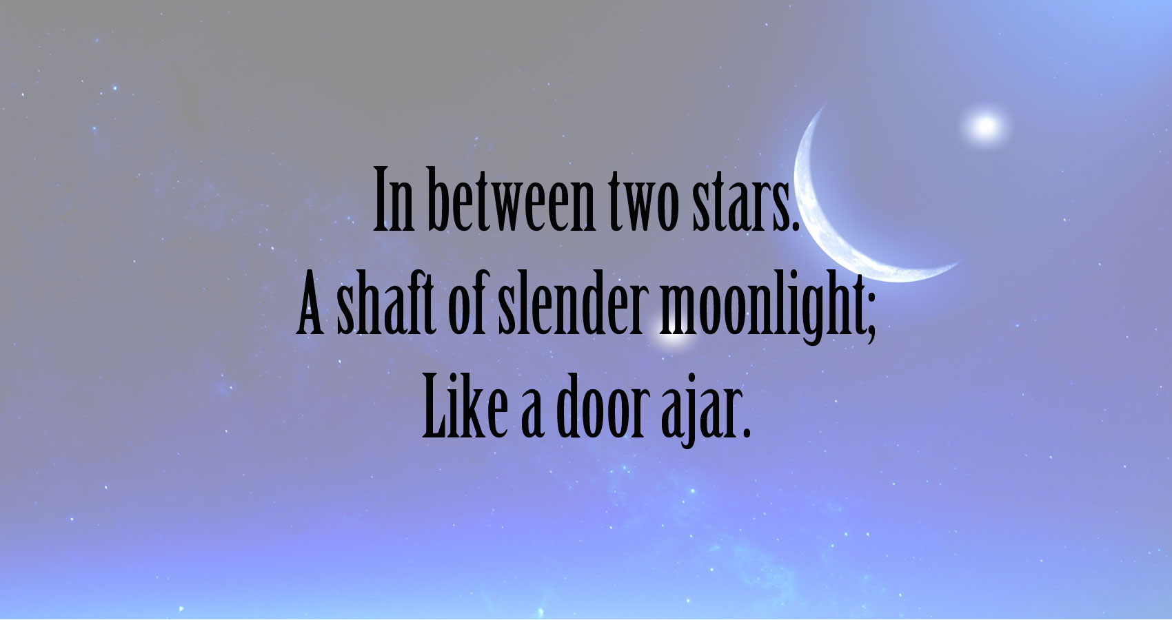 In Between the Stars at Spillwords.com