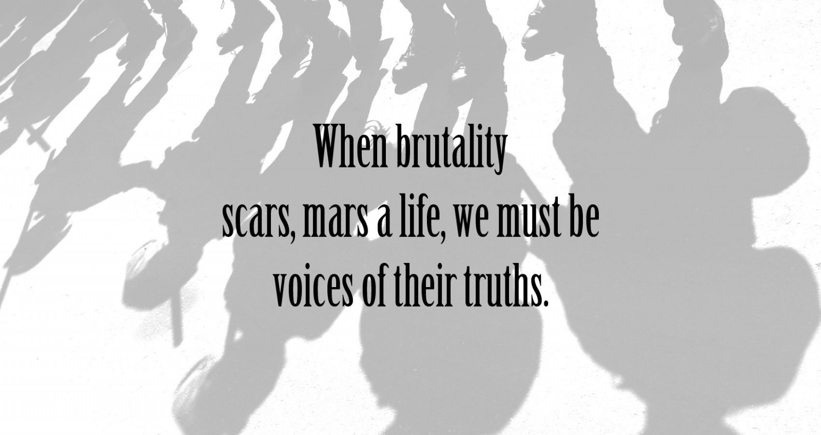 When Brutality Scars
