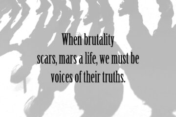 When Brutality Scars at Spillwords.com