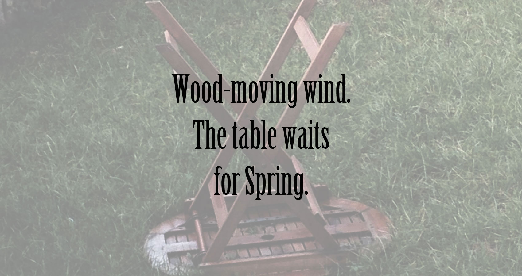 Wood-moving Wind at Spillwords.com