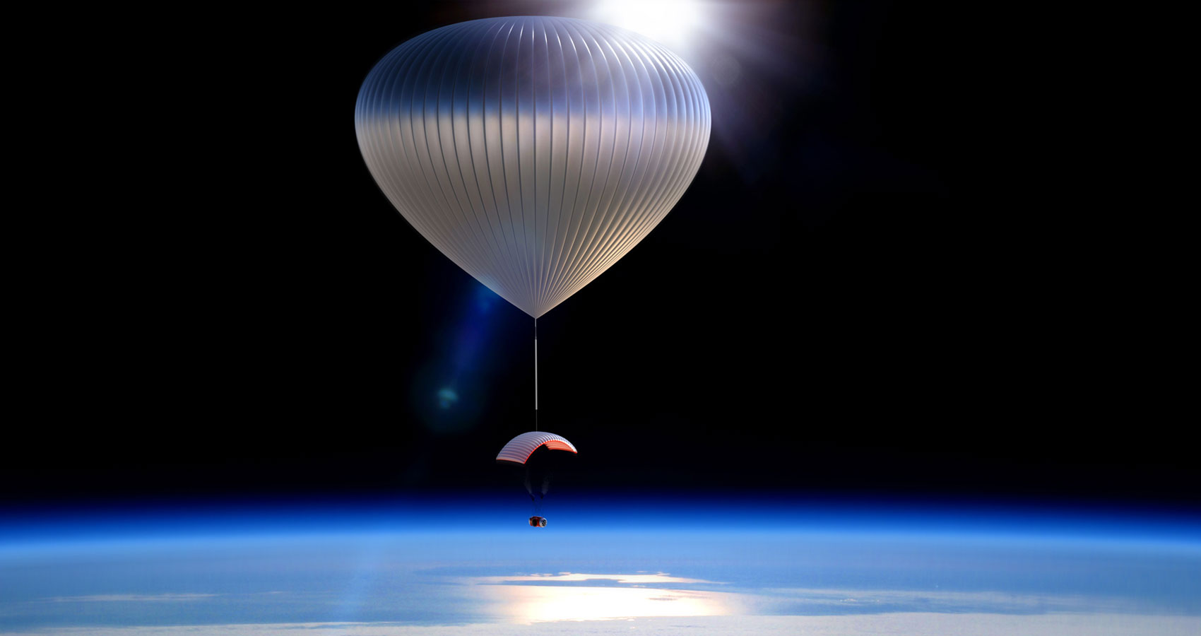 Balloons could fly you to the edge of space at Spillwords.com