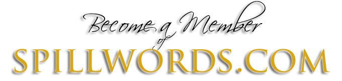 Register Page - Become a member of Spillwords.com
