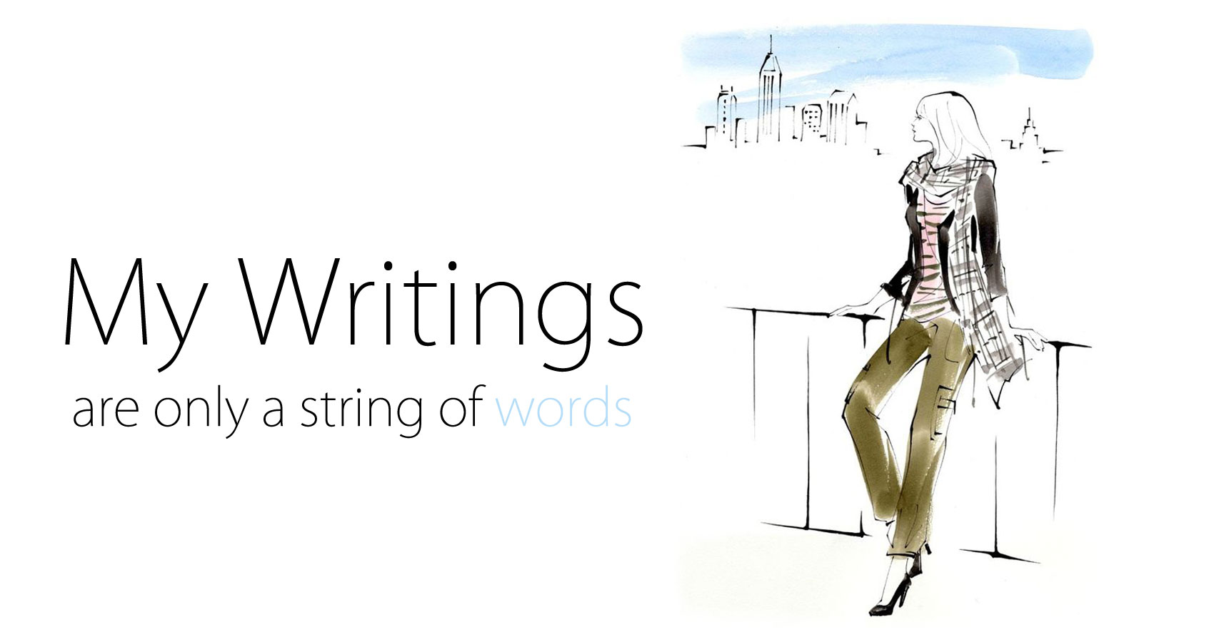 My Writings are Only a String of Words at Spillwords.com