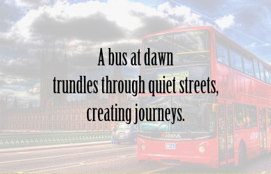 A Bus at Dawn at Spillwords.com