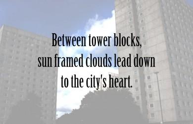 Between Tower Blocks at Spillwords.com
