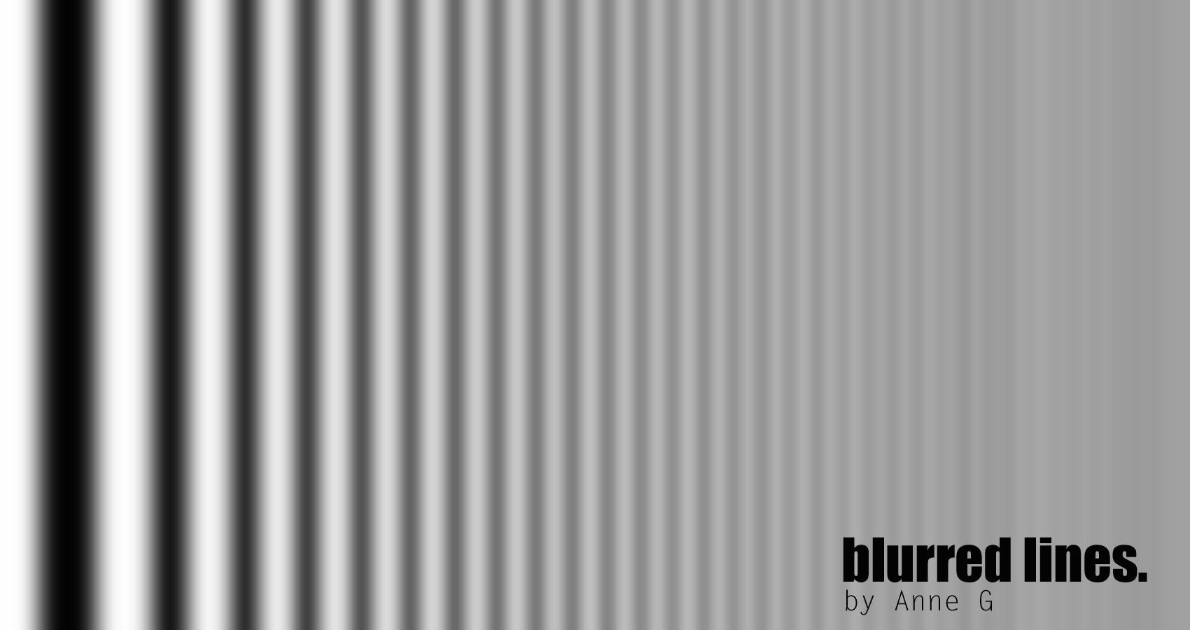 Blurred Lines at Spillwords.com
