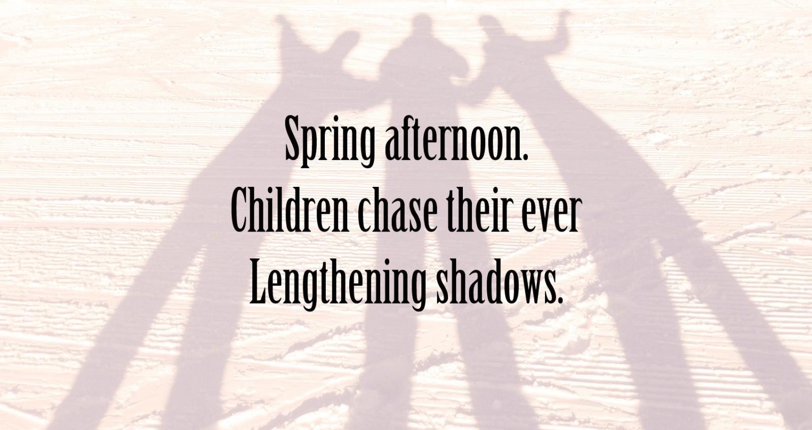 Spring afternoon