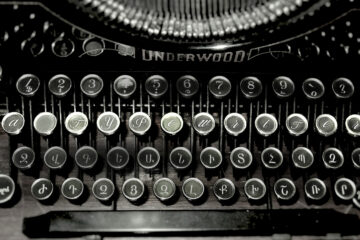 A Typewriter written by Christina Strigas at Spillwords.com