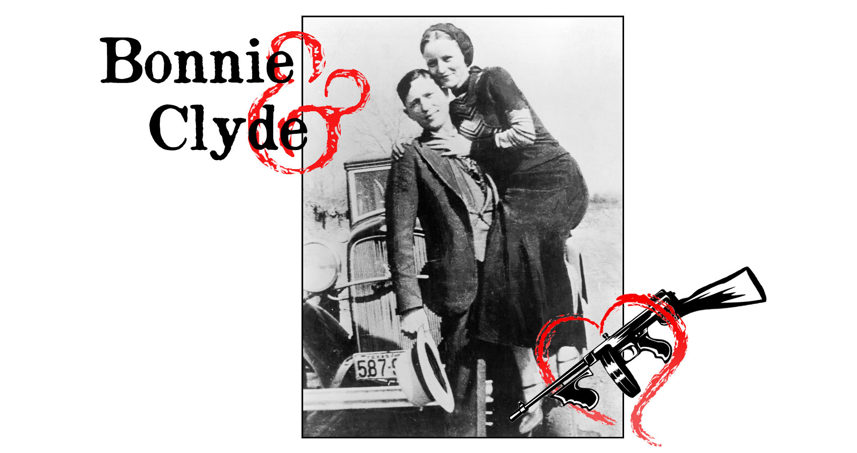 Bonnie & Clyde by Leanne Yeoman at Spillwords.com
