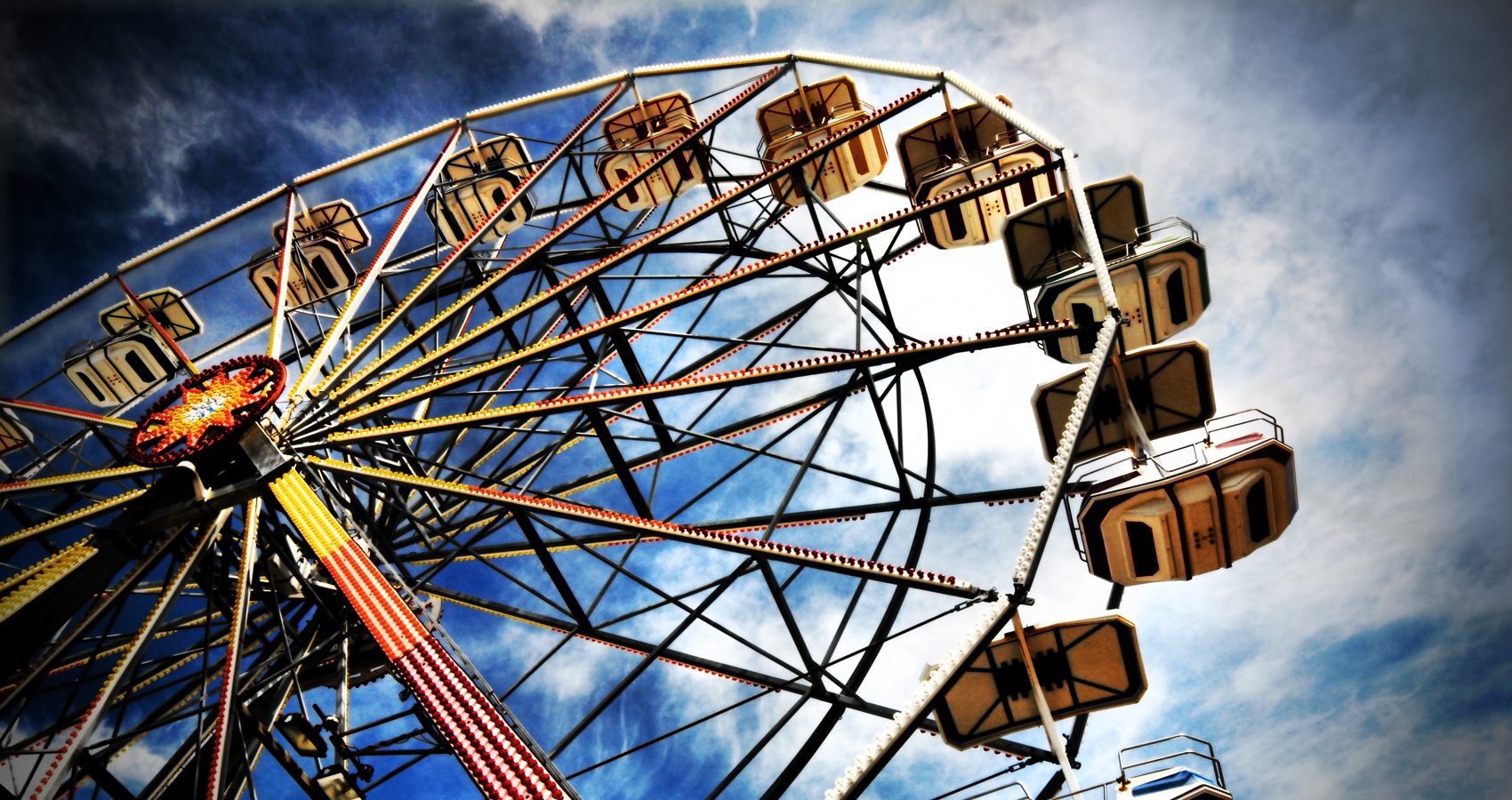 Ferris Wheel by Shloka Shankar at Spillwords.com