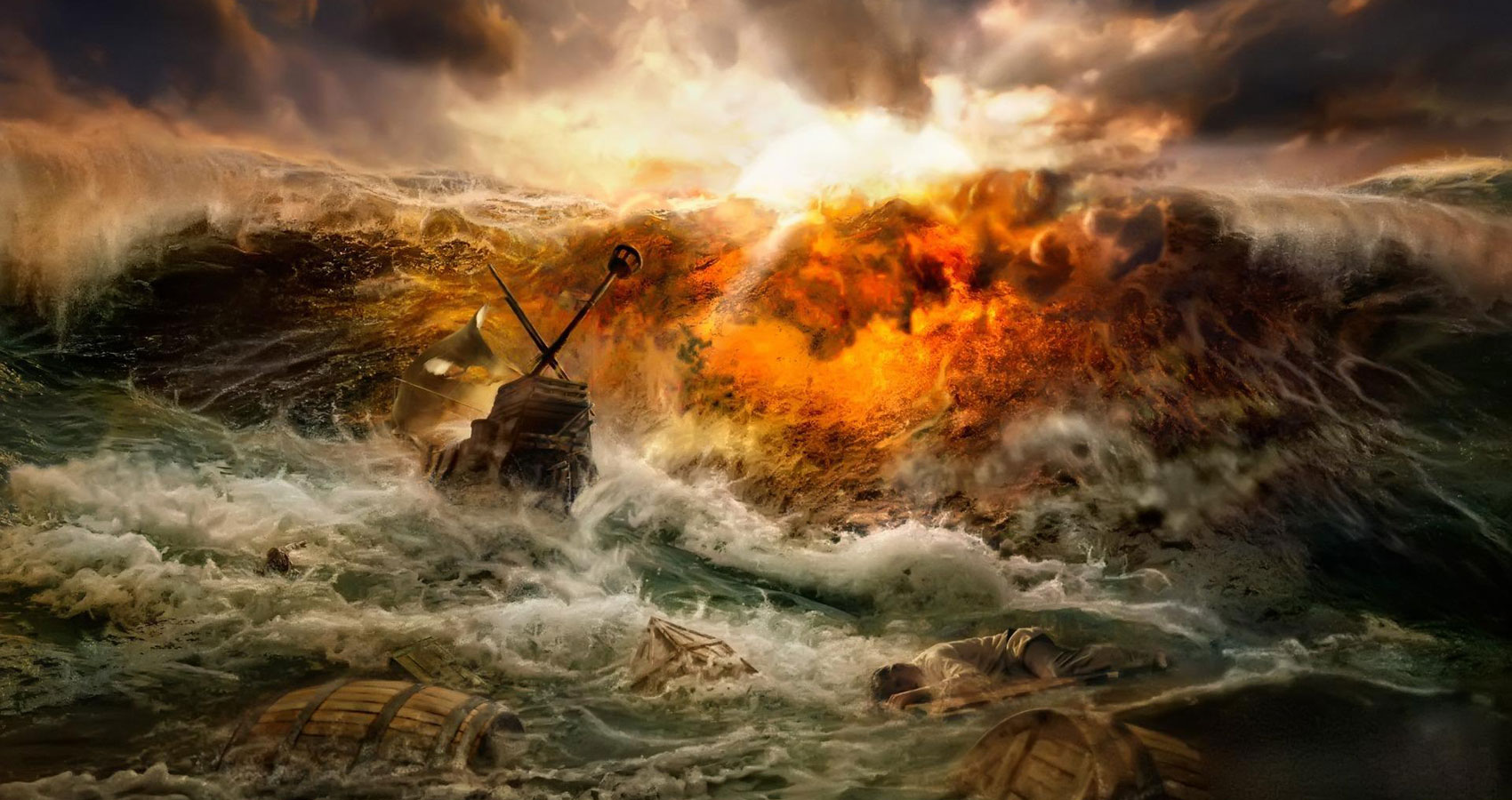 The Song Of The Wreck by Charles Dickens at Spillwords.com