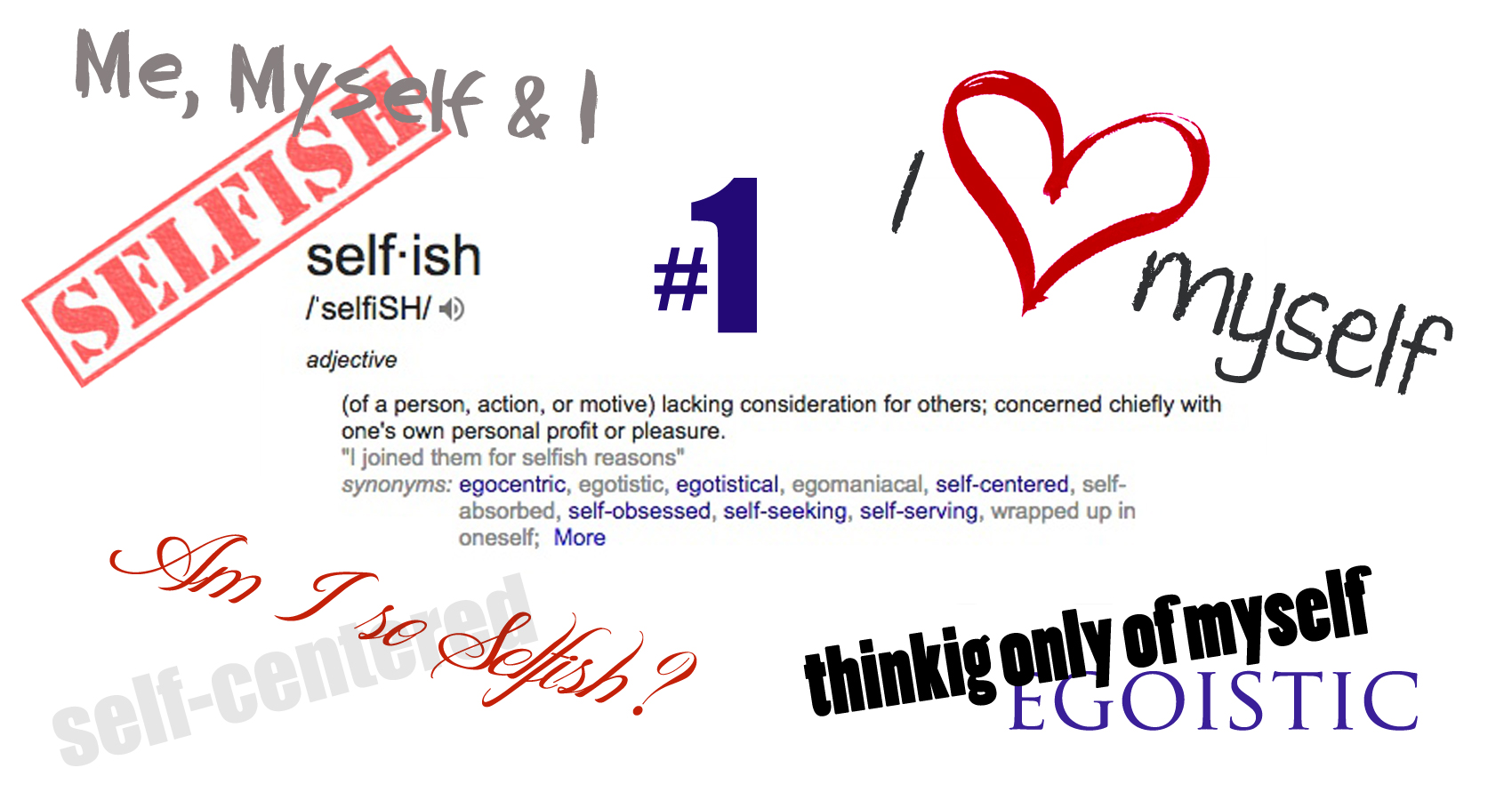 Am I So Selfish? by Shawntelle Moncy at Spillwords.com