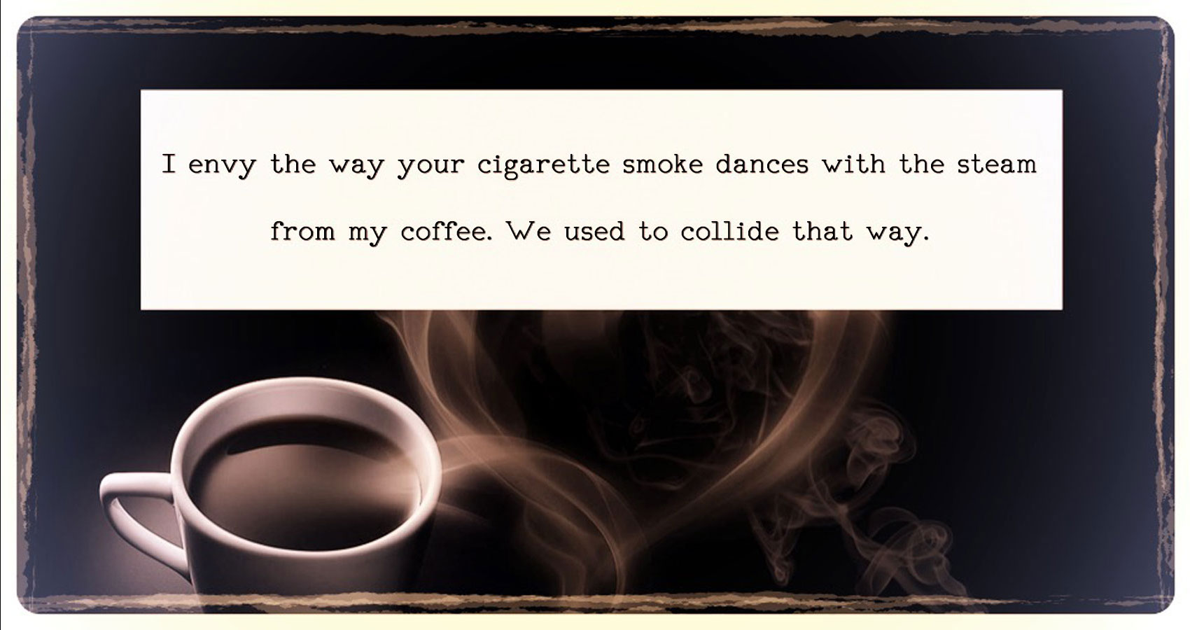 Collision, written by Kabrie Waters at Spillwords.com