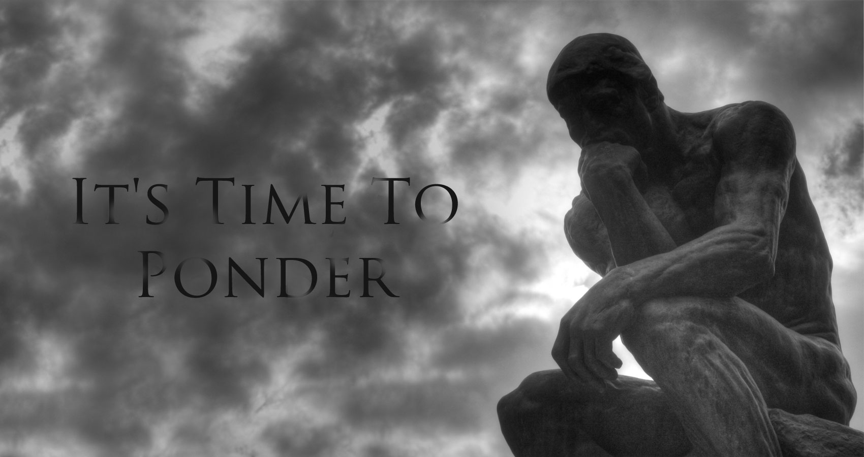 It's Time To Ponder, by Khurram Nizami at Spillwords.com