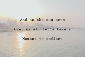 Something About Reflection by Ian Michael at Spillwords.com
