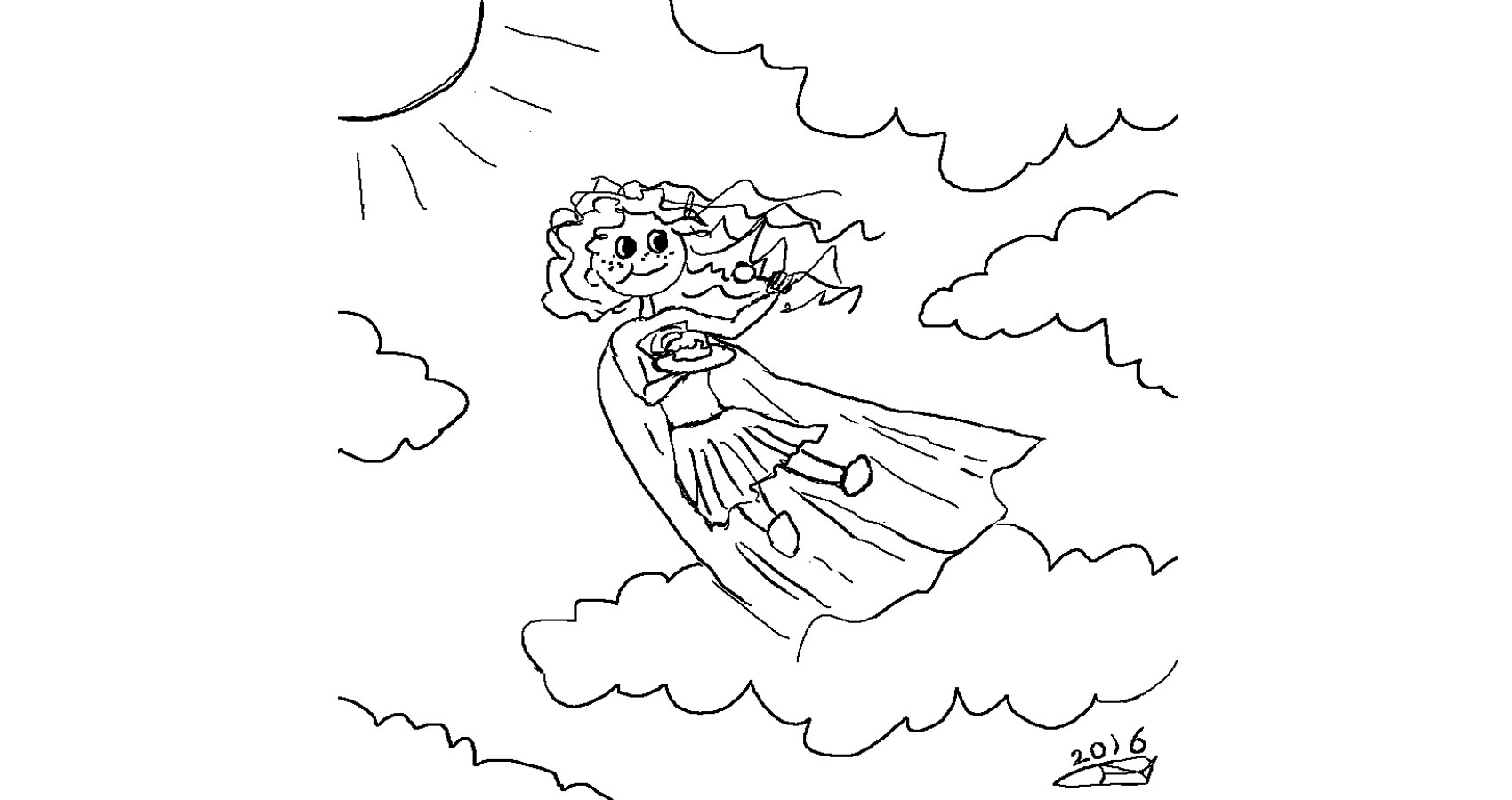 Strawberry Shortcake Supergirl by Robyn MacKinnon at Spillwords.com