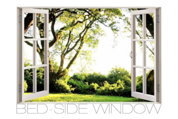 Bed-side Window, written by Jon Manley at Spillwords.com