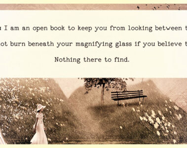 Open Book, written by Kabrie Waters at Spillwords.com