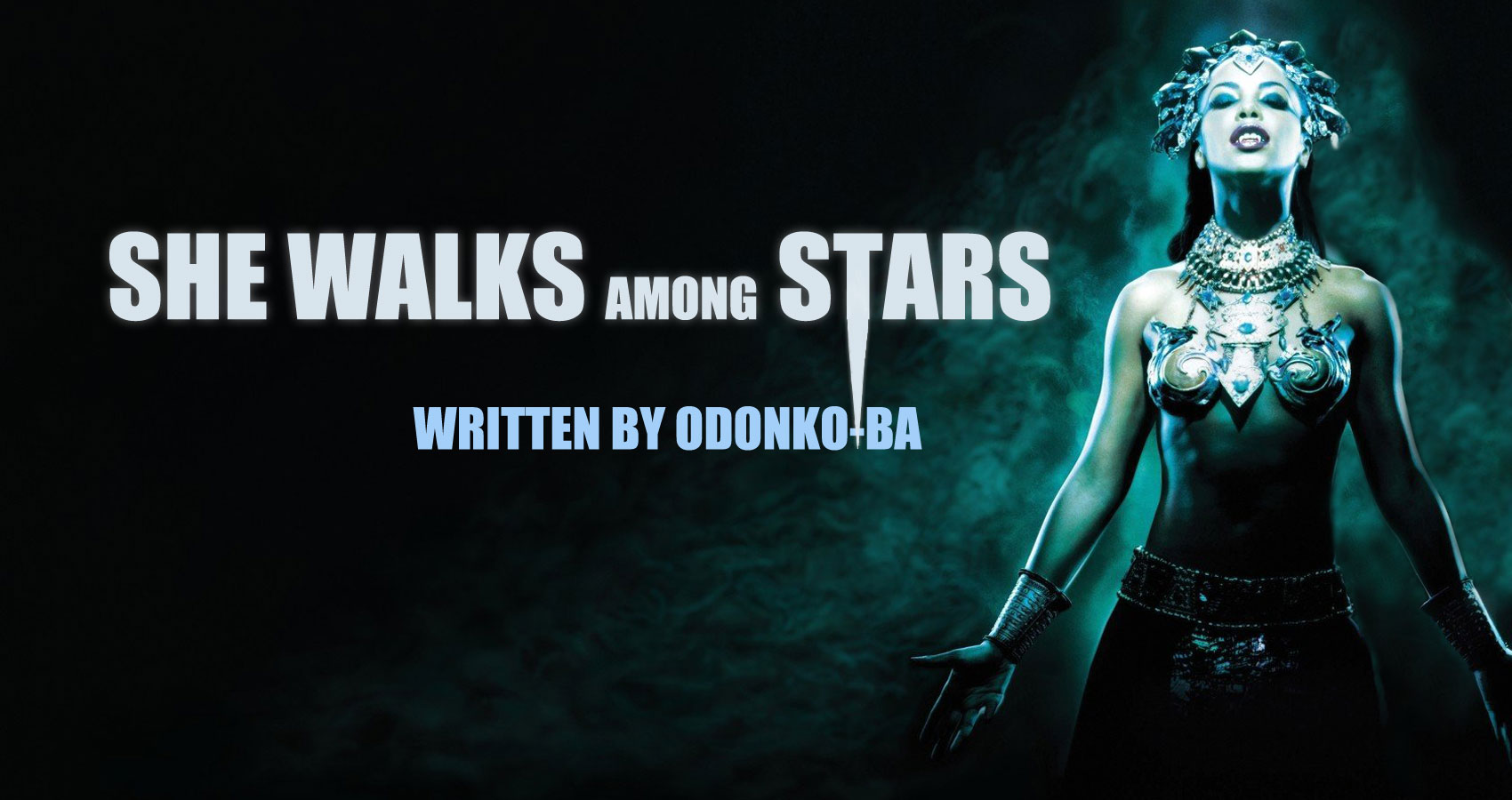 She Walks Among Stars by Odonko-ba at Spillwords.com