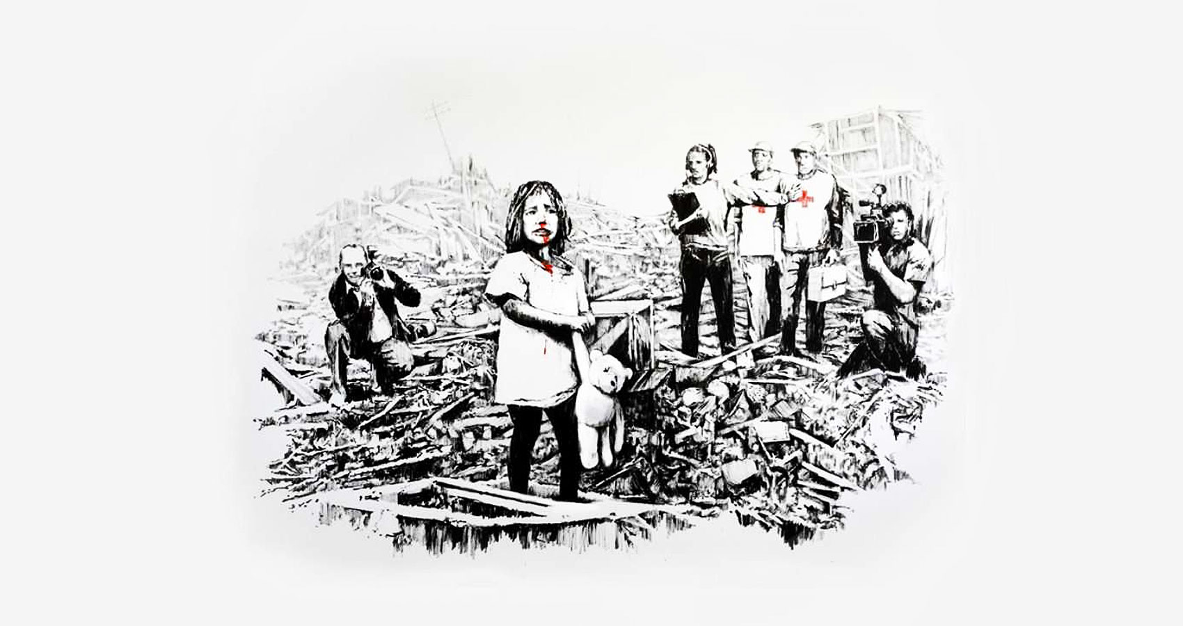 Syria and Child by Giorgia Spurio at Spillwords.com