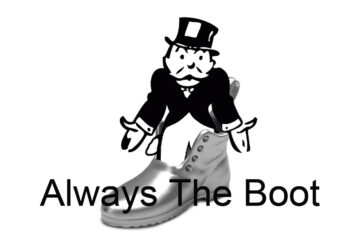 Always The Boot written by Alan Mitnick at Spillwords.com