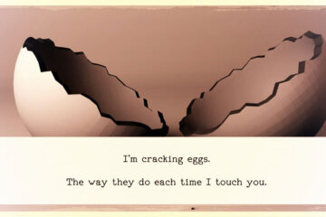 Eggs, written by Kabrie Waters at Spillwords.com