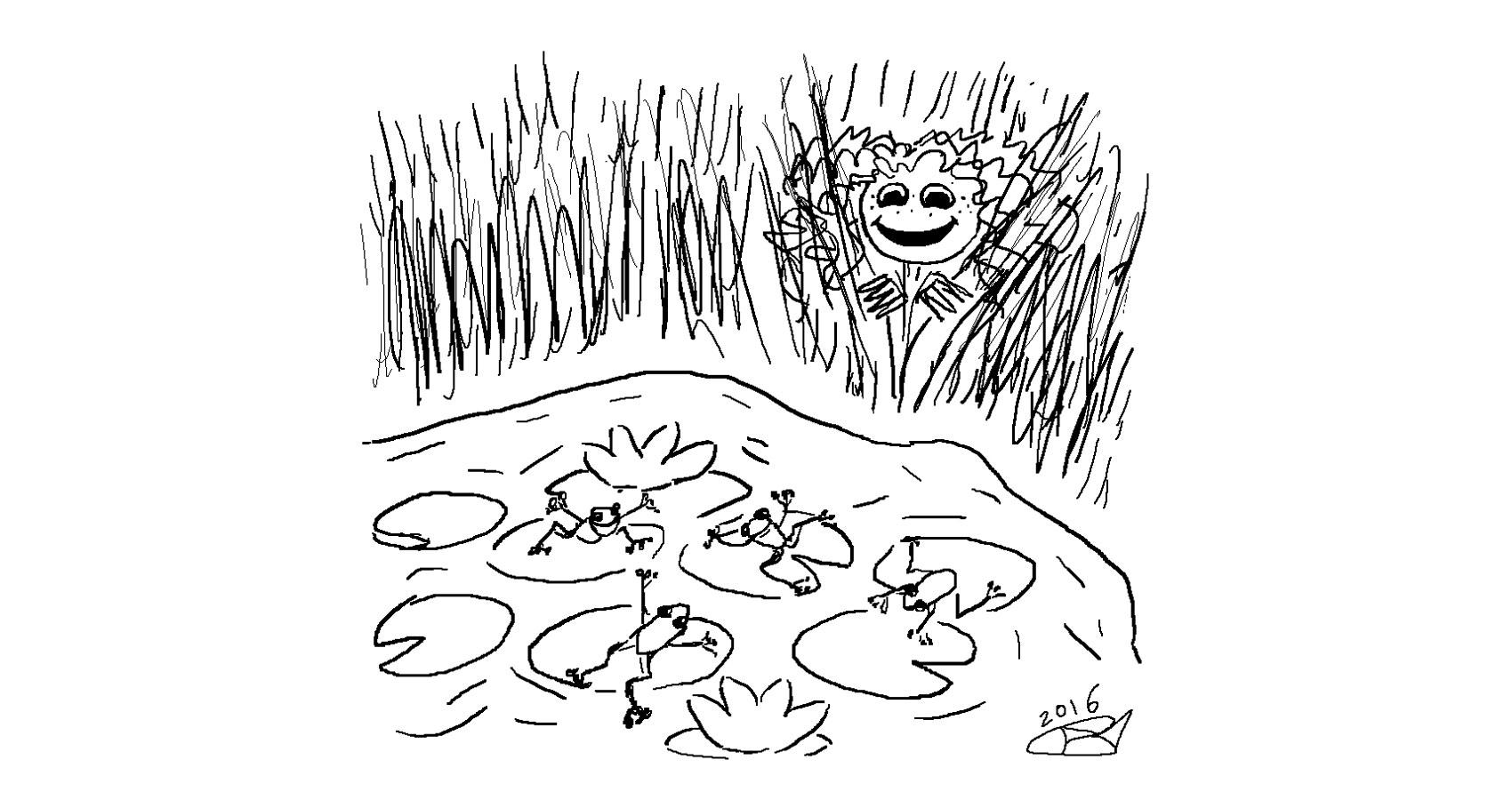Little Froggos written by Robyn MacKinnon at Spillwords.com