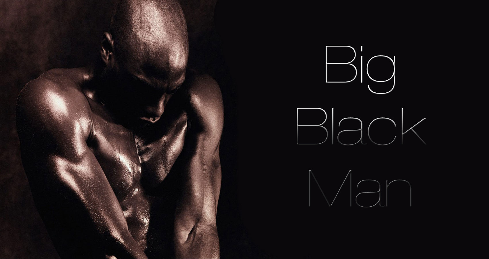 Big, black man written by Denise Rivera at Spillwords.com