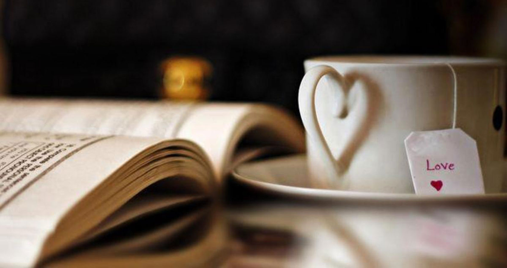 Books, Tea and Love by Natalia Aeschliman at Spillwords.com