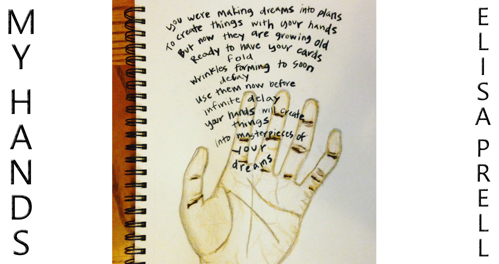 My Hands by Elisa at Spillwords.com