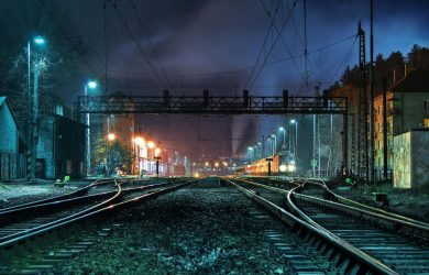 Night in the Train Station by Matt Dunn at Spillwords.com