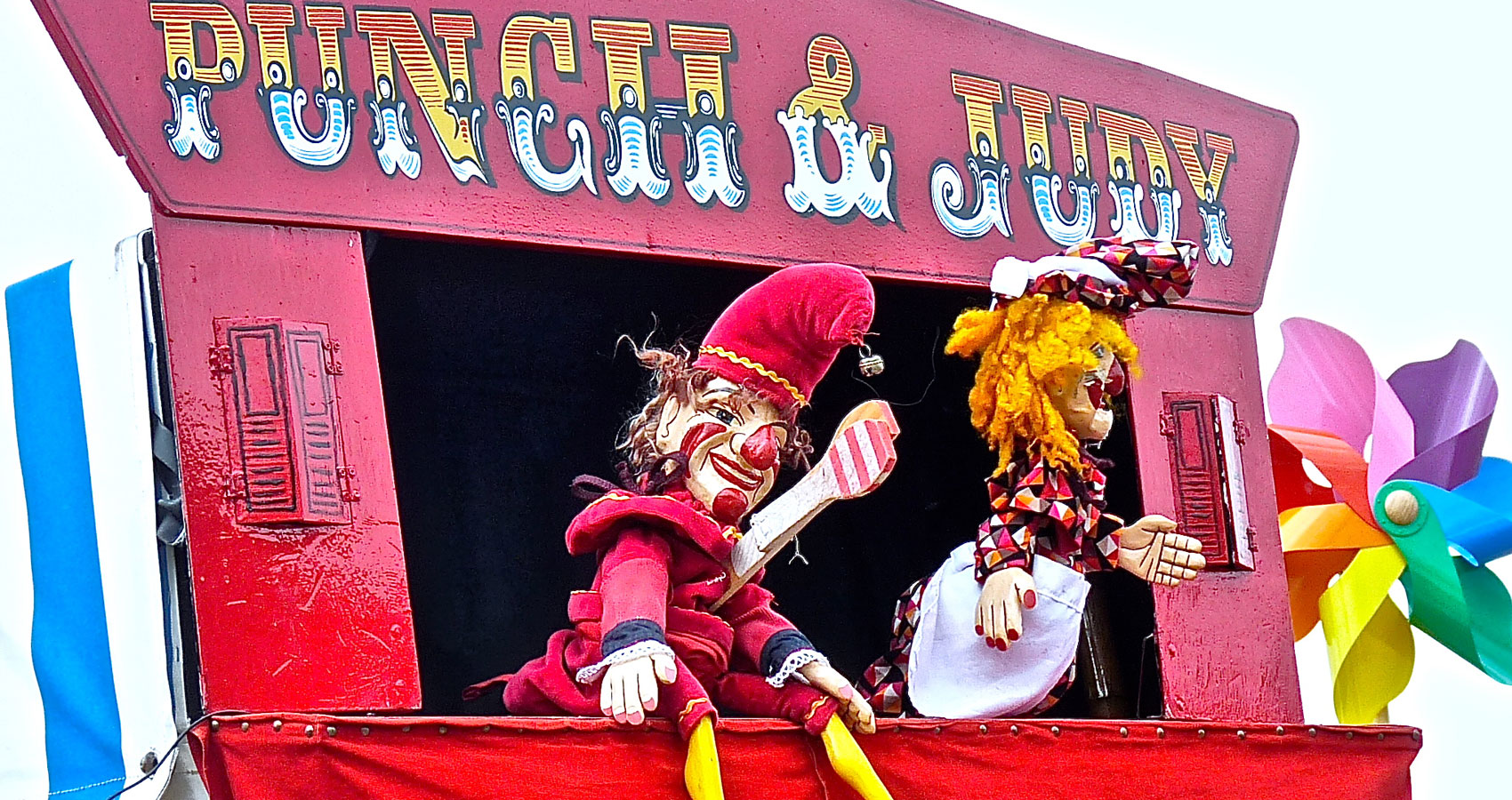 Punch and Judy written by Ingela(saja) at Spillwords.com