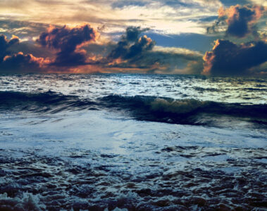 Summer Nights, Face Turned to the Atlantic by Holly Michaels at Spillwords.com
