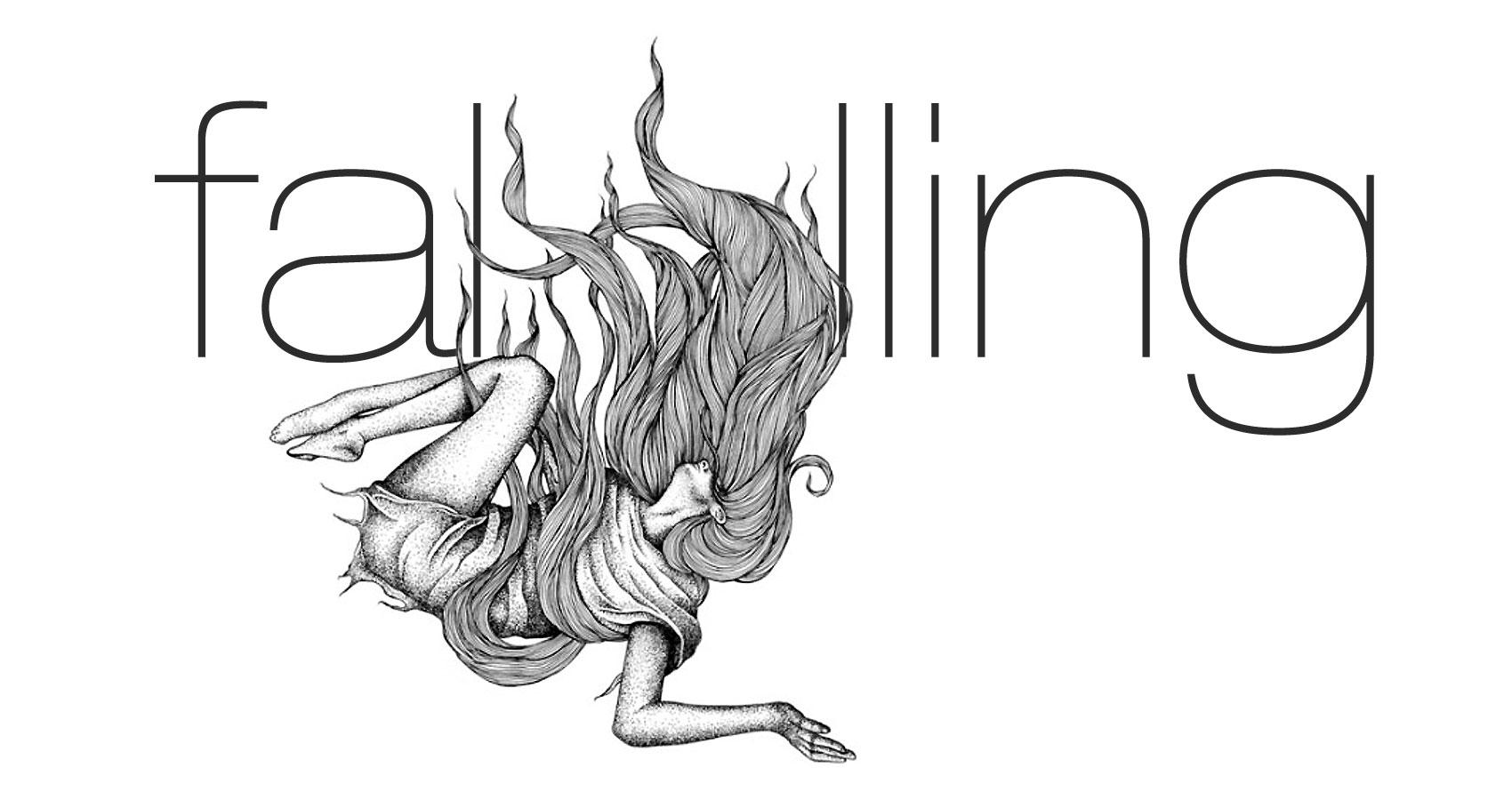 Falling written by Anushka Maheshwary at Spillword.com