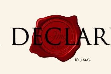 I Declare written by J.M.G. at Spillwords.com